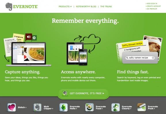 Evernote : la promesse d'un monde connecté avec un lieu de stockage unique pour toutes vos idées et documents